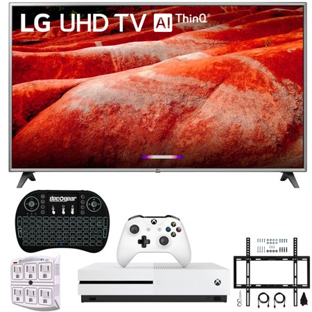 "LG 86UM8070PUA 86"" 4K HDR Smart LED IPS TV w/ AI ThinQ 2019 Model Includes Microsoft Xbox One S 1TB & Ultimate Wall Mount Accessory Bundle (UM8070PUA 86UM8070P 86UM8070)"