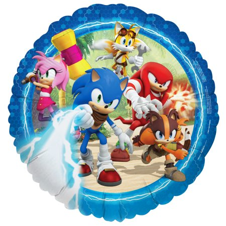Sonic Boom Sonic The Hedgehog Party Supplies 2 Pack Foil Balloons