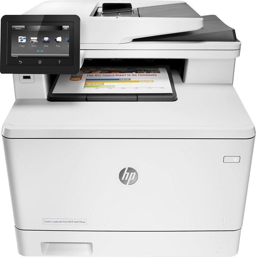 HP LaserJet Pro M477FNW MFP 28PPM E-PRINT/GBE/USB Wi-Fi AIO