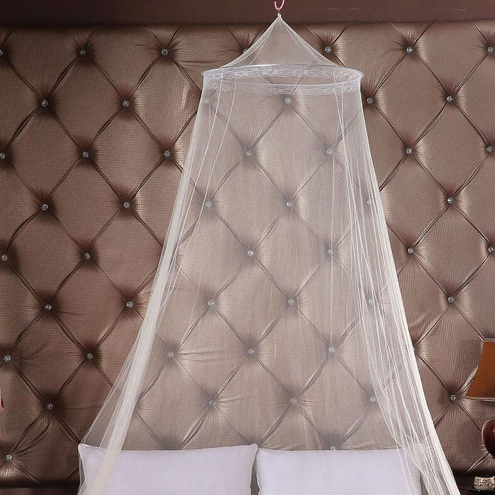 Outdoor Round Lace Insect Bed Canopy Netting Curtain Hung Dome Mosquito Nets