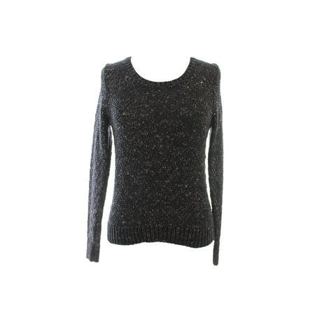 Eileen Fisher Petite Bronze Marled Crewneck Sweater PS