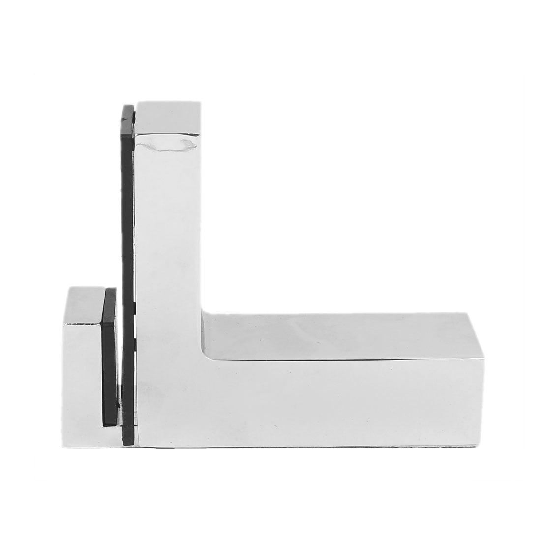 Wall Cabinet Metal Adjustable Glass Clip Shelf Clamp Support Bracket Holder - image 4 of 6