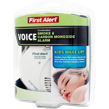First Alert SCO7CN-C Child Awakening Combo Smoke & CO Alarm with Voice Location Feature