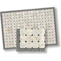Dollhouse Tile: Faux Marble, 6Pk, 13 Inch X 17