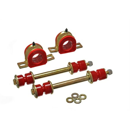 Energy Suspension 01-06 C2500 HD Silverado 2WD Red 36mm Front Sway Bar Bushing Set 4wd Energy Sway Bar Bushings