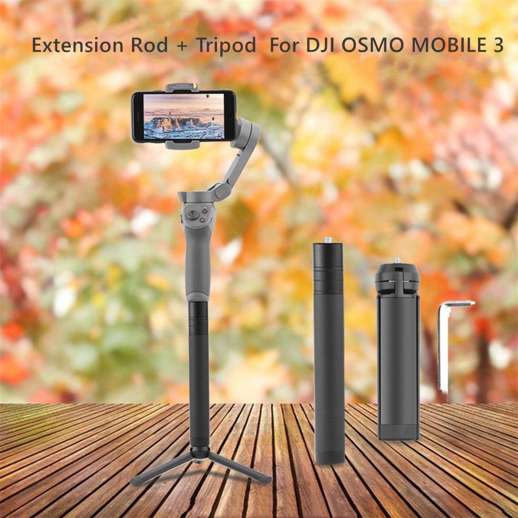 Handheld Selfie Stick Extension Pole Rod Lengthening Bar for DJI Osmo Mobile