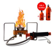Lightweight Outdoor BBQ Picnic Camping Split Oil Petrol Fuel with 330ml 750ml Empty Fuel Bottles