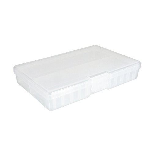 Merveilleux Fotou0026Tech Clear AA/AAA Plastic Battery Storage Case/Organizer/Holder (Holds  46 AA Batteries Or 64 AAA Batteries)