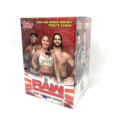 2019 Topps WWE Raw Wrestling Cards Retail Value (Wwe Best Of Raw 2019)