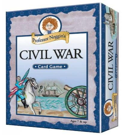 Educational Trivia Card Game - Professor Noggin's Civil (Best Civil War Board Games)