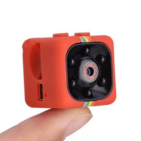 WALFRONT Full HD 1080P Mini Sports DV Camera High Definition Night Vision IR Outdoor Sports DV Video Recorder, SQ11 Mini Automobiles & Motorcycles Vehicle HD Action