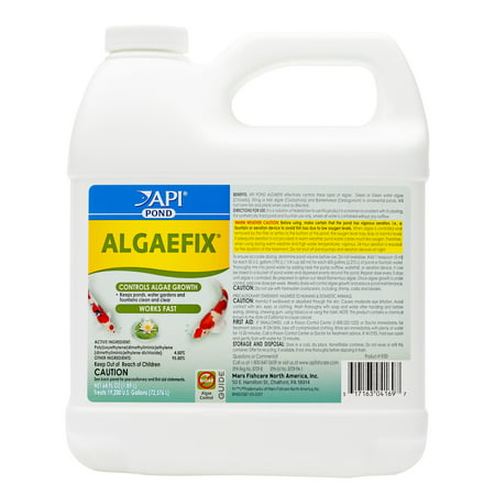 API Pond Algaefix, Algae Control Solution,