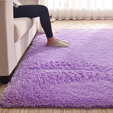 13 Colors 4 Sizes Modern Soft Fluffy Floor Rug Anti Skid