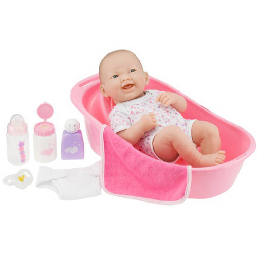 "JC Toys Berenguer 14"" La Newborn Doll with Bath Set"