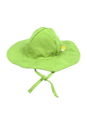 Leveret Kids Baby Boys Girls Sun Protection Swim Brim Hat Green Size 2-4 Toddler