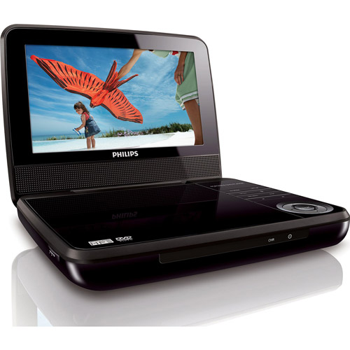"Philips 7"" LCD Portable DVD Player, PET741M/37"