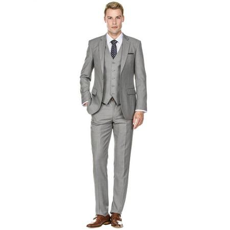 Braveman Men's Slim Fit 3PC Suits