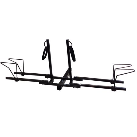 Dual Twin Lower Mount Bike Bicycle Trailer Hitch Mount Carrier (Best Trailer Hitch Bike Rack)