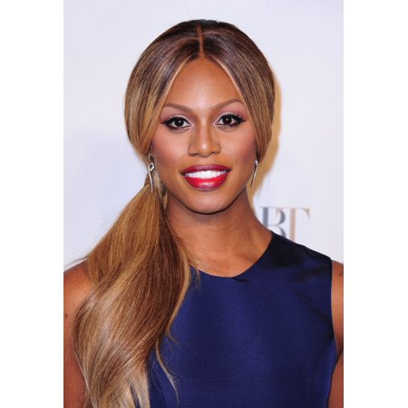 Laverne Cox At Arrivals For American Ballet Theatre  Abt  75Th Anniversary Fall Gala Canvas Art     16 X 20