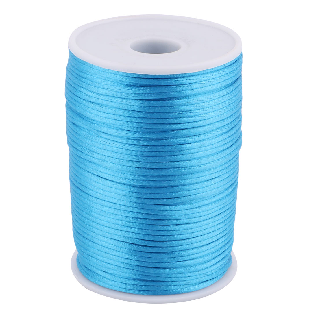 Nylon Chinese Knot Necklace Crafts DIY Braided Cord Blue 2.5mm Dia 109 Yards
