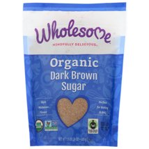 Sugar & Sweetener: Wholesome Organic Dark Brown Sugar