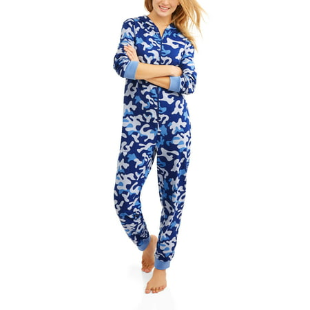 c6d7e1e1e Body Candy - Women s Pajama Knit Union Suit One Piece Sleepwear With ...