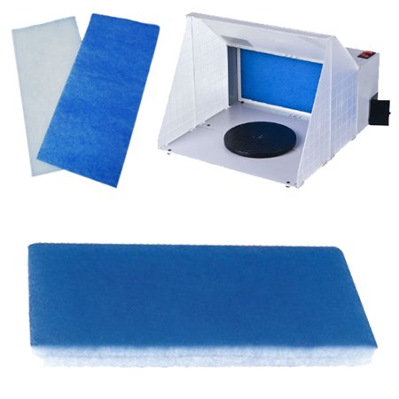 Replacement BOOTH FILTER Hobby Airbrush Spray Paint Booth Master B400DC -