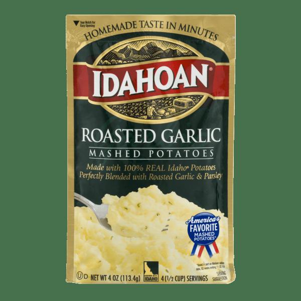 Idahoan: Roasted Garlic Mashed Potatoes, 4 Oz