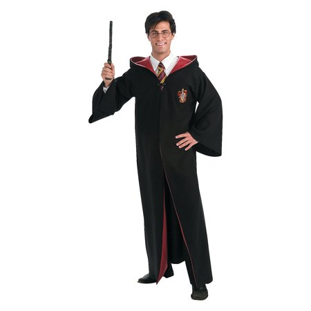 Fun Express - Rb Deluxe Adult Harry Potter Robe for Halloween - Apparel Accessories - Costume Accessories - Misc Costume Accessories - Halloween - 1 Piece - Harry Potter Robes Adult