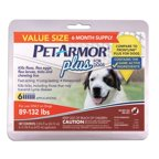 Petarmor Plus For Cats All Sizes 6 Count Walmart Com