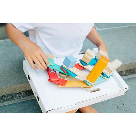 14 Piece Tegu Magnetic Wooden Block Set, Sunset - image 16 of 16