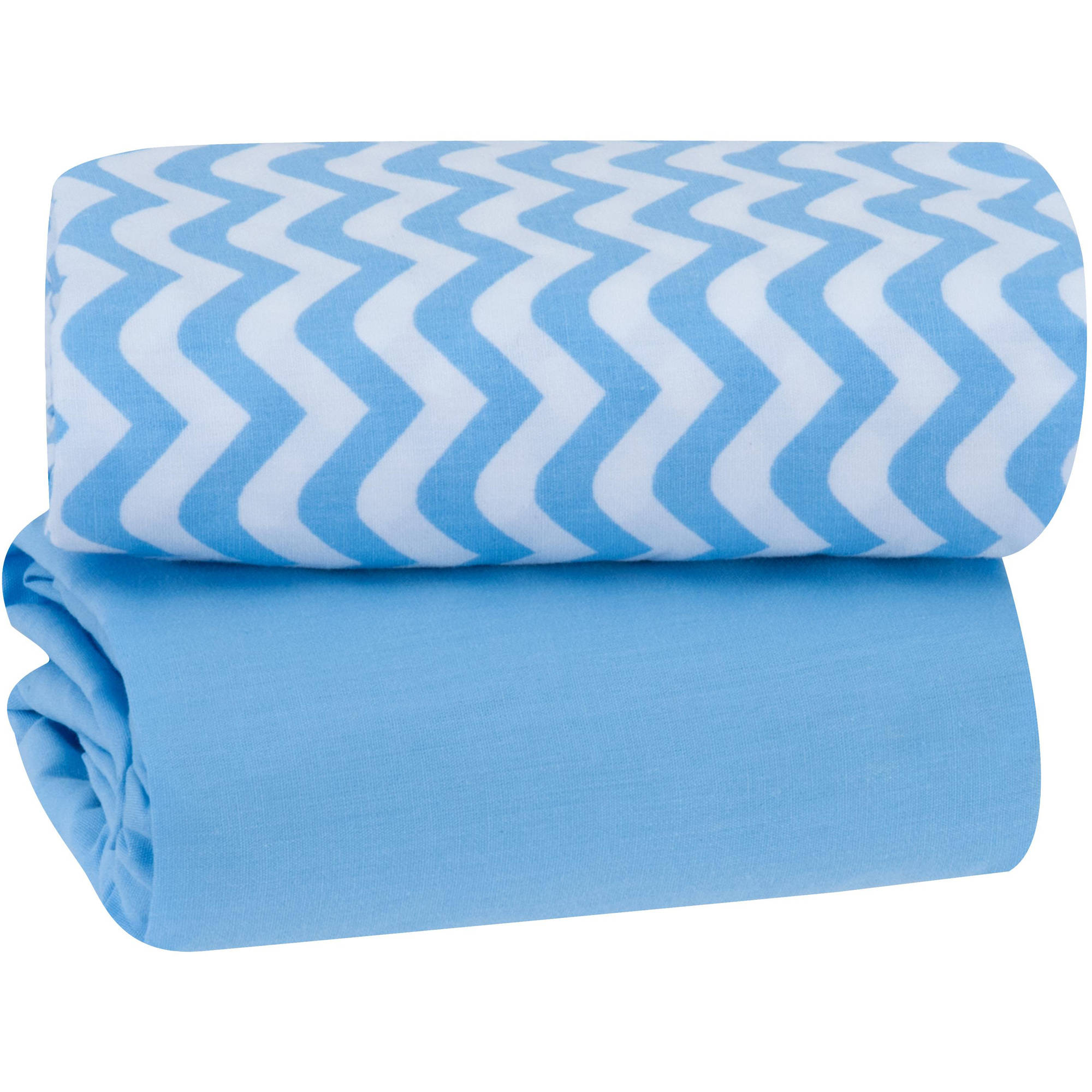 Garanimals Playard Sheet, 2pk, Blue