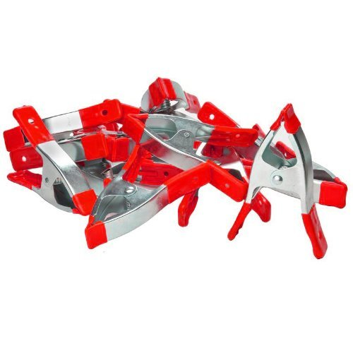 "72 pc. 6"" Medium Heavy Duty Spring Clamps"
