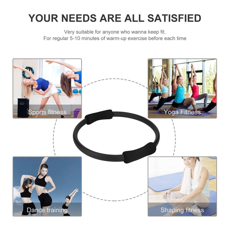 Pilates Ring Magic Circle Dual Grip Sporting Goods Yoga Ring Exercise Fitness