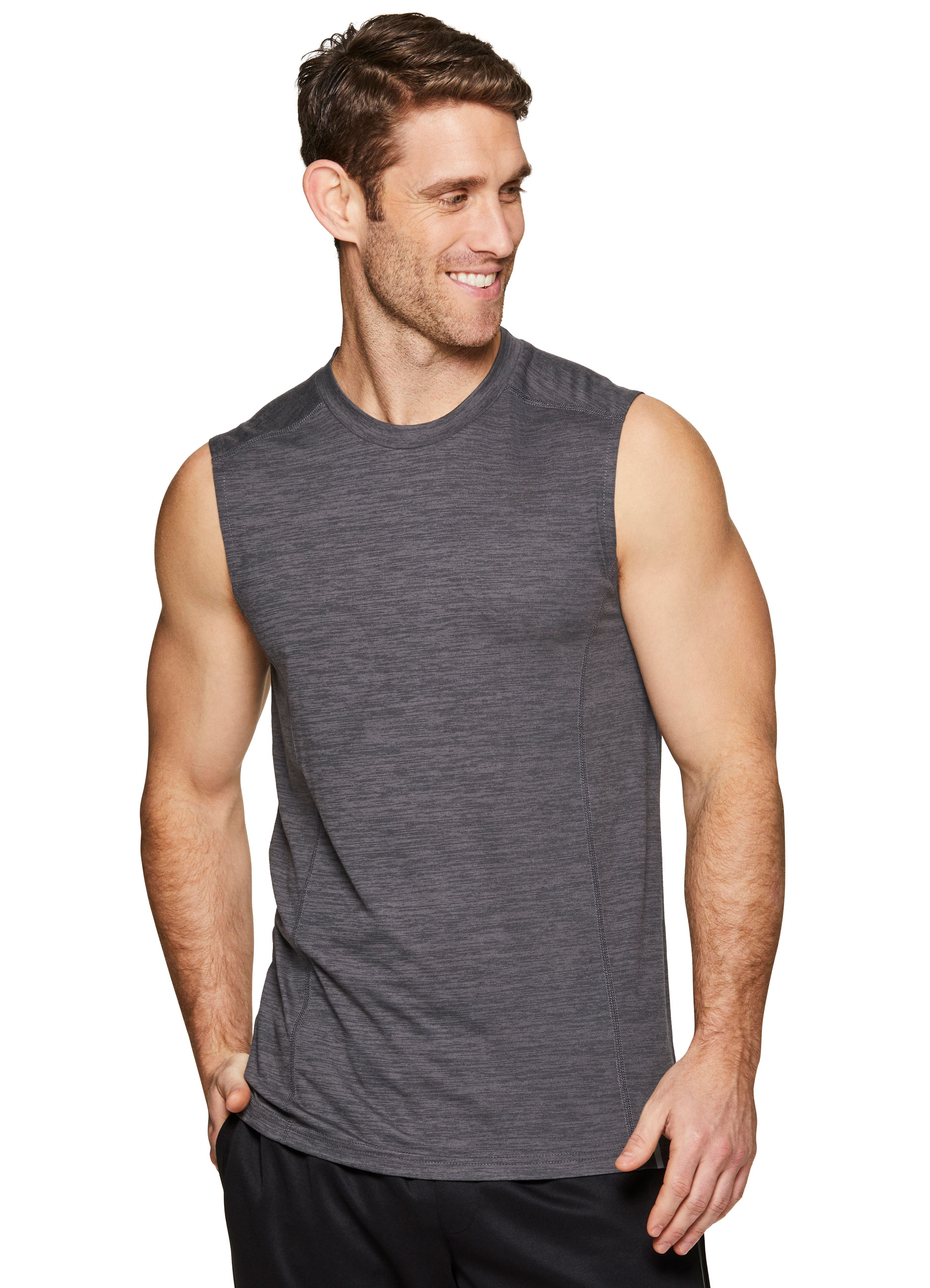 Mens Outdoor Sport Paint Parrot Flying Bird Tank Top Vest T-Shirt Fast Drying Stylish Sleeveless Tee