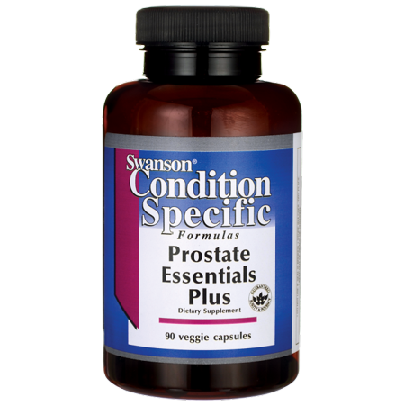 Swanson Prostate Essentials Plus - Features Selenium Select 90 Veg (Support 90 Caps)