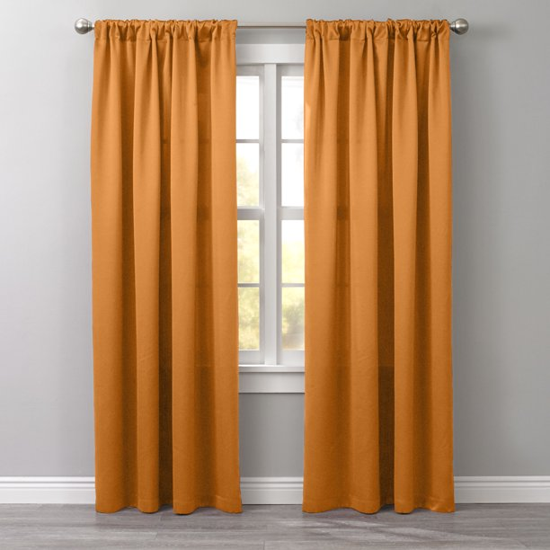 Brylanehome Room Darkening Rod Pocket Panel Curtain Window Drape Walmart Com Walmart Com