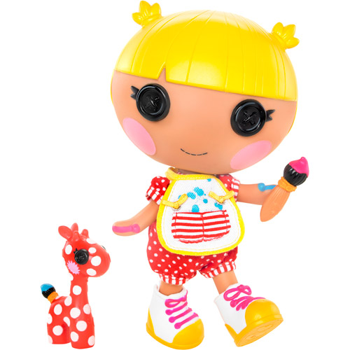 Lalaloopsy Littles Scribbles Squiggle Splash Doll