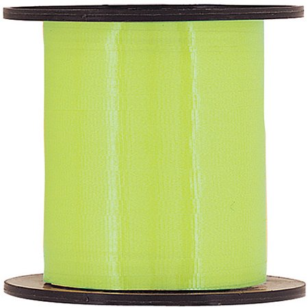 Curling Ribbon, Lime Green, 500 yd, 1ct - Green Ribbon Tattoo