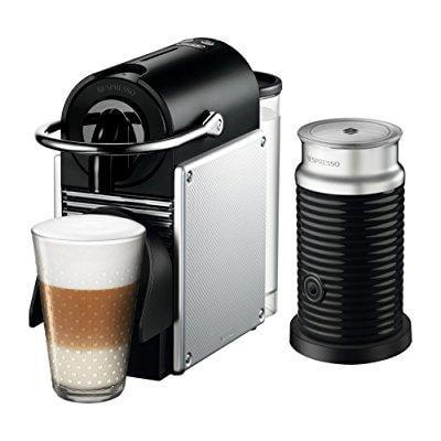 Nespresso Pixie Espresso Machine by De'Longhi with Aeroccino,