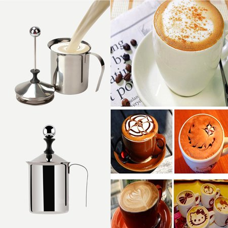 Milk Jug Halloween Craft Ideas (Stainless Steel Milk Frothing Jug Fast Boiling Coffee Milk Mug Cup Coffee cappuccino Latte Container Metal Pitcher Barista Craft)