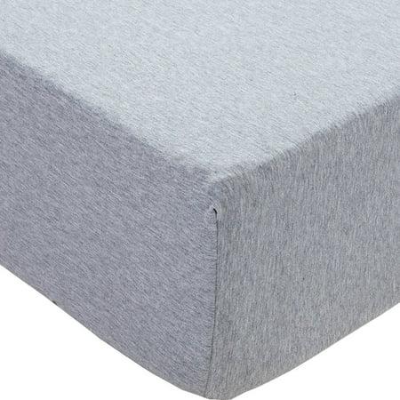 PURE ERA Jersey Knit Cotton Fitted Bottom Sheet - Deep Pocket Upto 15