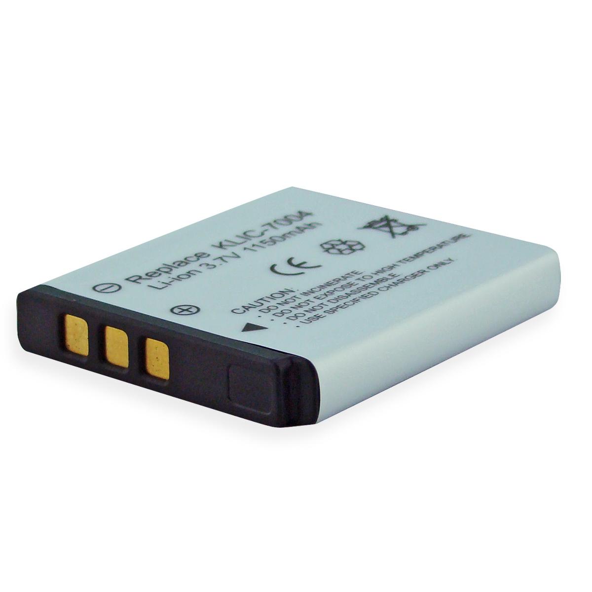 Denaq 1150mah Li-ion Camera/camcorder Battery For Kodak Easyshare V1233, V1253, V1273, M1033 - 1150 Mah - Lithium Ion [li-ion] (dq-rc7004-k)