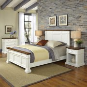Home Styles Americana King Bed, 2 Night Stands and Chest