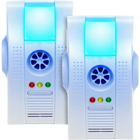 Multi Pack Reusable Revolution Electronic Indoor Pest Repeller Night Light