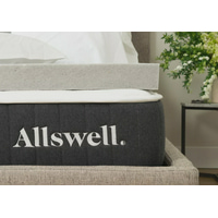 Allswell 3? Memory Foam Mattress Topper Infused with Graphite