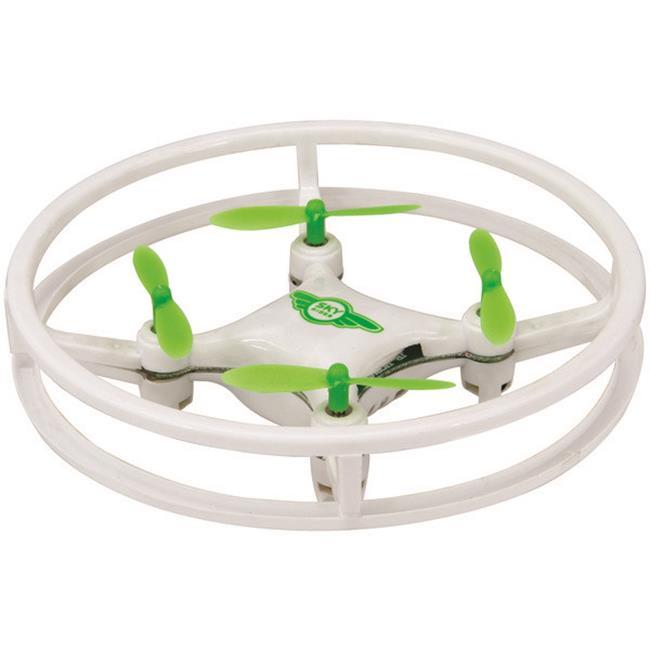 Mini Glow Quadcopter Drone, Green & White - image 1 de 1