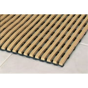 Mats Inc. Barepath Anti-Slip Wet Area Mat, Buff, 3' x 5'