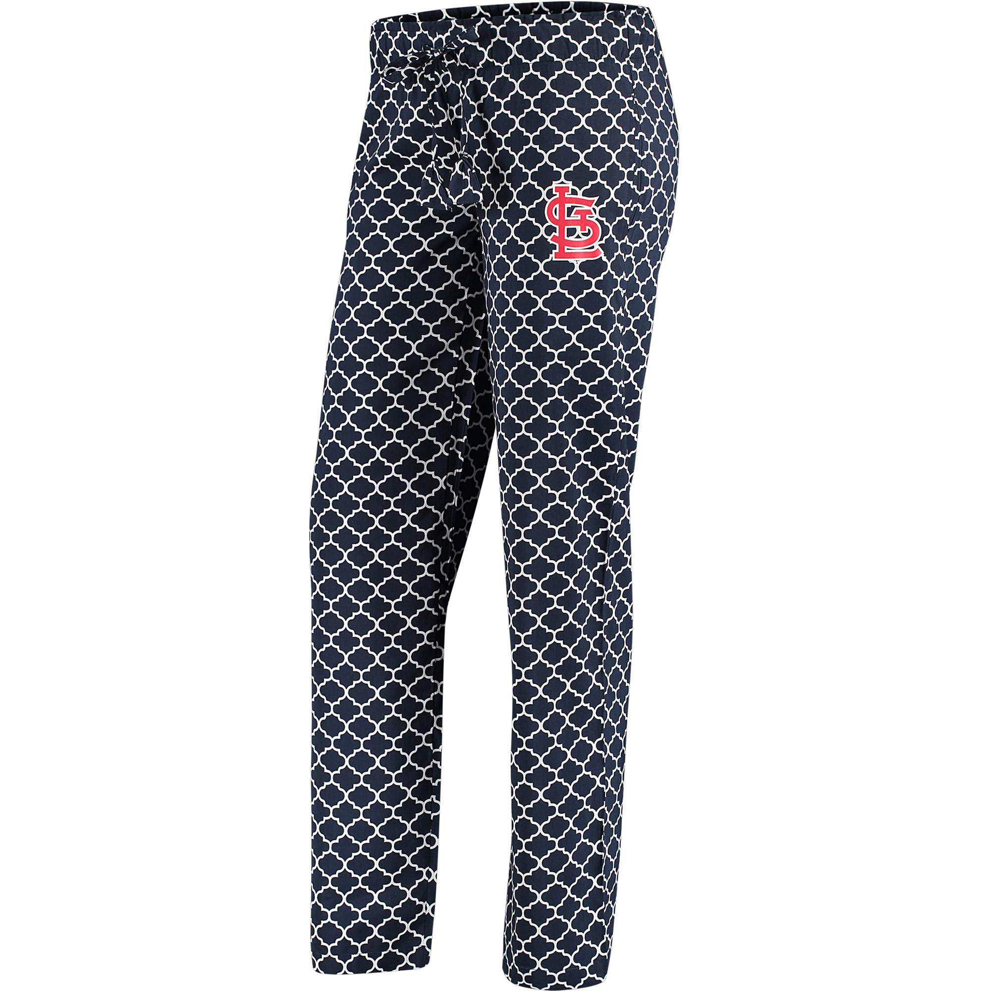 St. Louis Cardinals Concepts Sport Women's Slumber Sleep Pants - Navy/White
