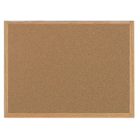 MasterVision Value Cork Bulletin Board with Oak Frame, 24 x 36, - Cute Halloween Bulletin Board Ideas